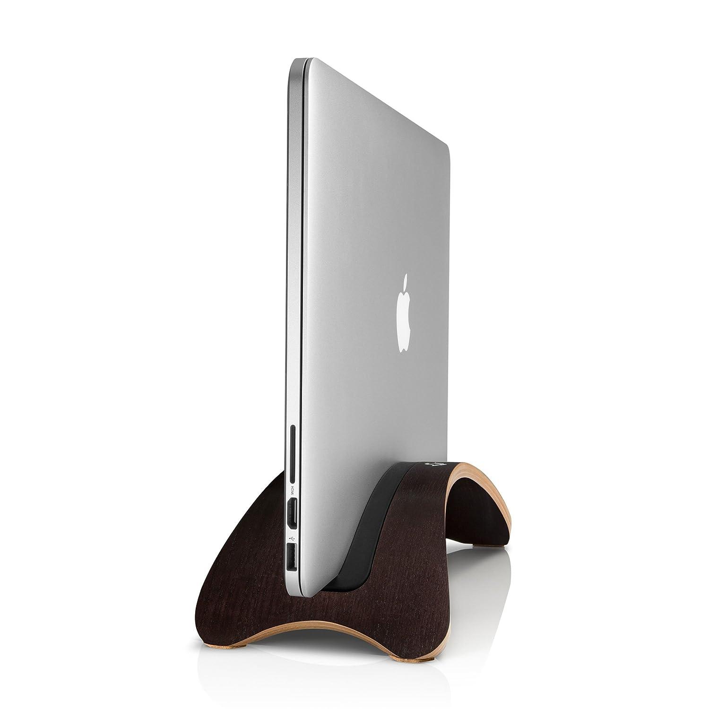 09149b04e72 Twelve South BookArc mod for MacBook, espresso   Modern wood desktop stand  for MacBook Air/MacBook Pro: Amazon.co.uk: Computers & Accessories