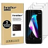 iVoler [3-Unidades] Protector de Pantalla BQ Aquaris V/VS/U2/U2 Lite, Cristal Vidrio Templado Premium para BQ Aquaris V/VS/U2/U2 Lite [9H Dureza] [Alta Definicion 0.3mm] [2.5D Round Edge]