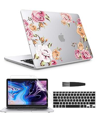Amazon.com: GVIEWIN - Funda para MacBook Pro de 13 pulgadas ...
