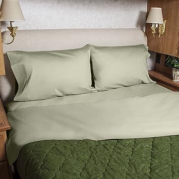 3 4 Full Bunk 48x75 Camper RV Sheet Set 100 Cotton Color Sage