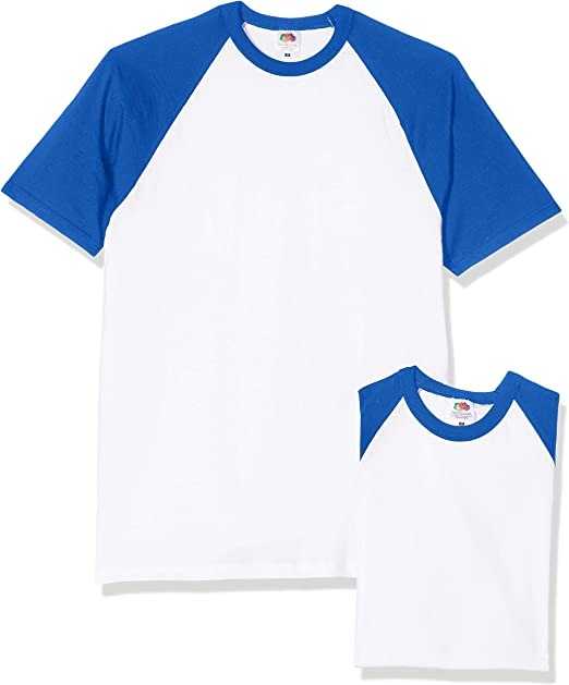 Fruit of the Loom Baseball T Camiseta para Hombre: Amazon.es: Ropa y accesorios