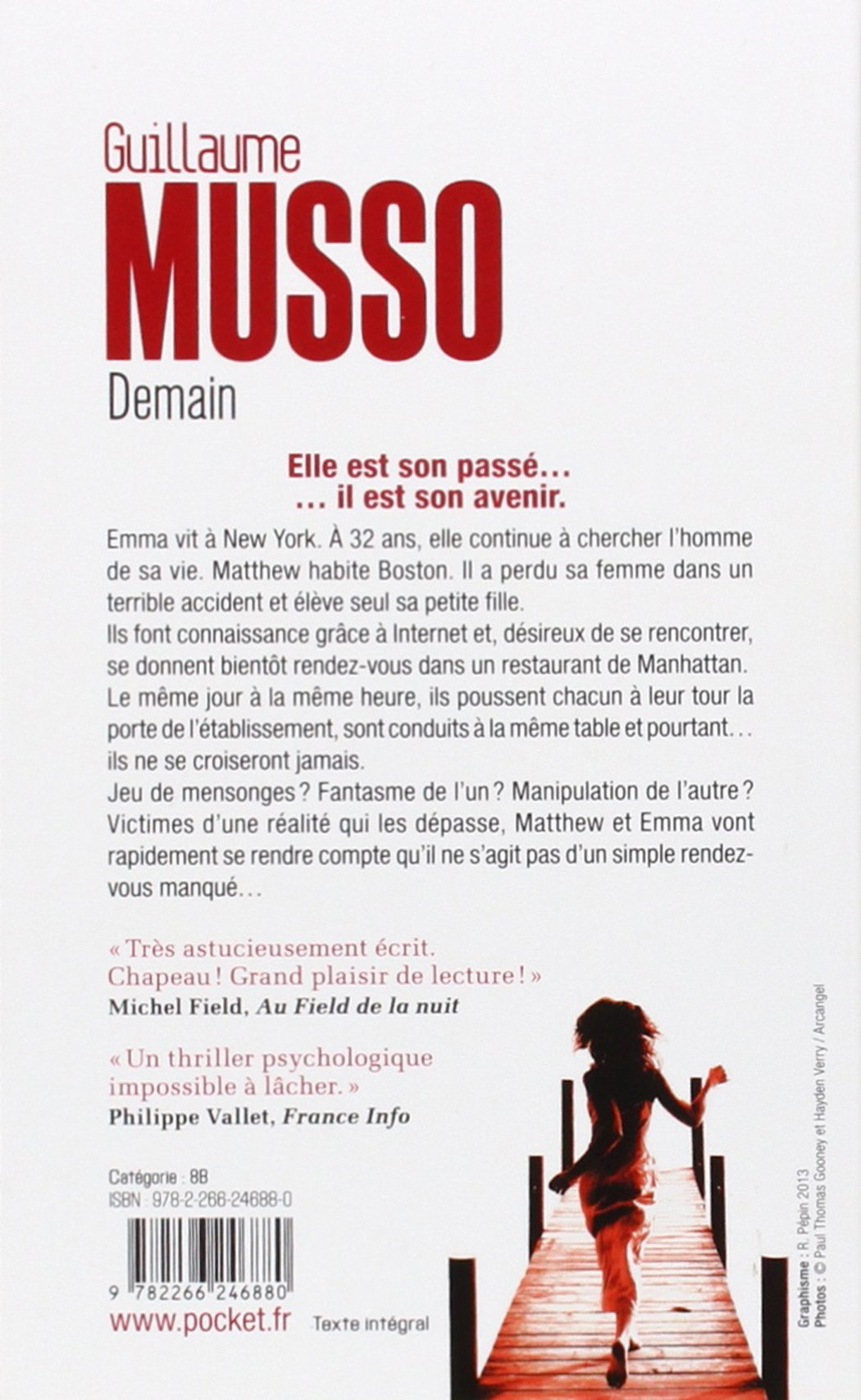 Demain French Edition Guillaume Musso Pocket