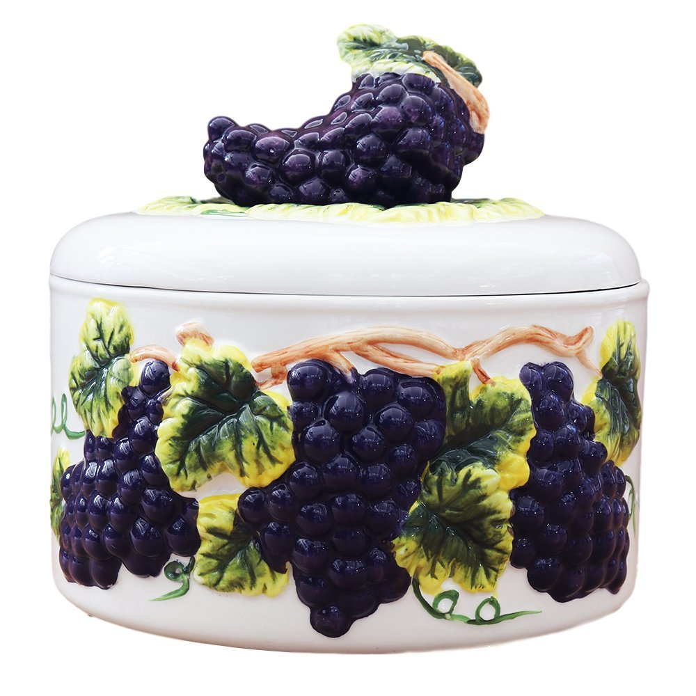 Tuscany 3D Grape Tortilla Warmer