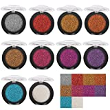 Powder Eyeshadow,Lavany Single Baked Eye Shadow