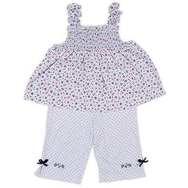 d63911dc249 Kissy Kissy Little Girls Petite Cerise Capri Pant Set W Tee - Toddler-2T