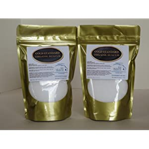 H2O Air Water Americas Gold Standard Organic Sulfur 2lb - 99.9% Pure MSM - Largest Granular Flakes Available