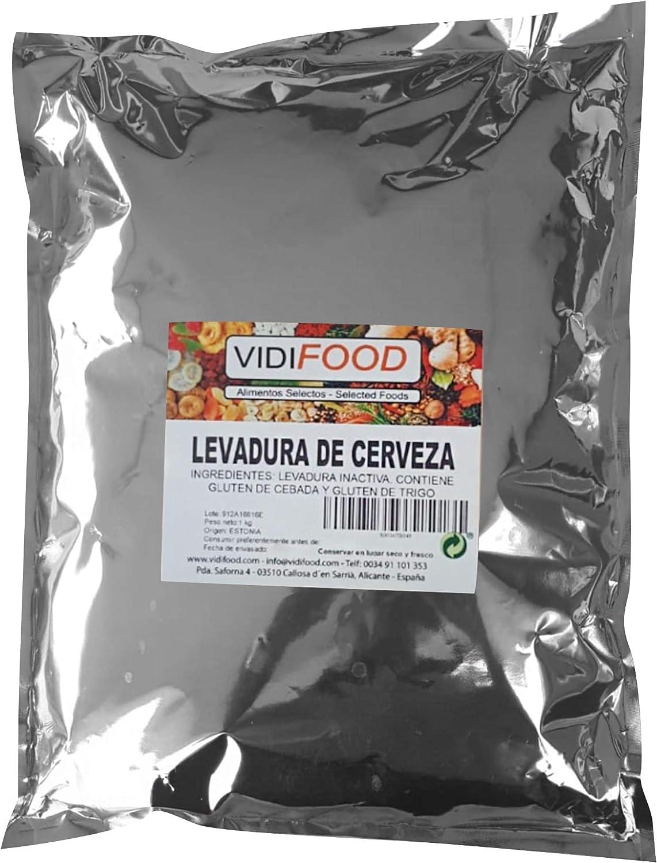 VidiFood Levadura De Cerveza En Copos - 1kg