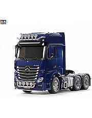 Tamiya 56354 1: 14 RC MB ACTROS 3363 Pearl Blue vorl, Azul