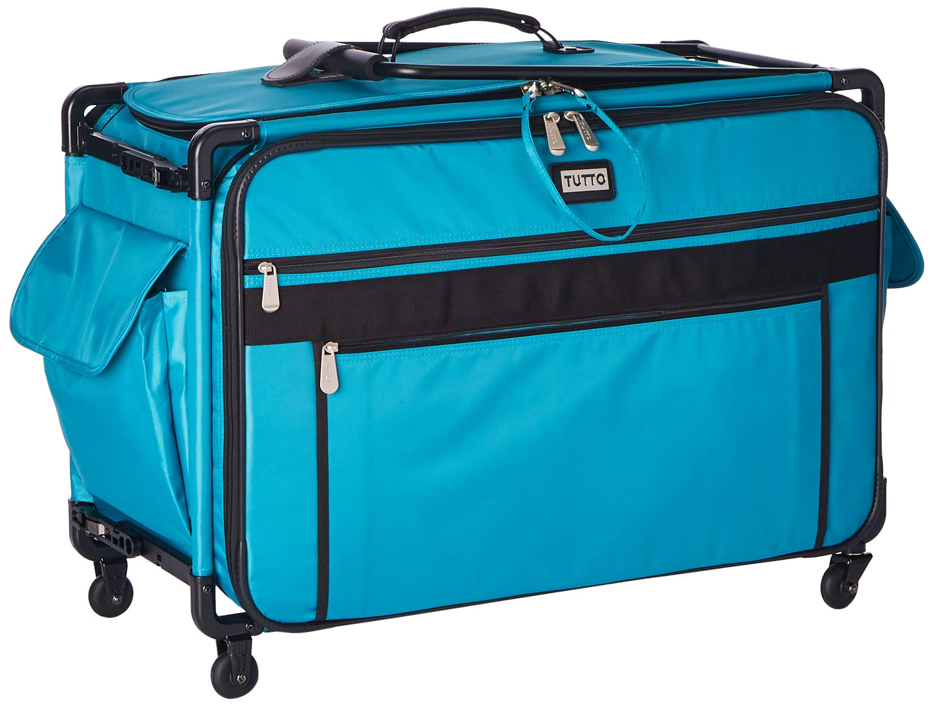 Tutto Monster Machine on Wheels Sewing Machine Case, 2XL Turquoise by Tutto