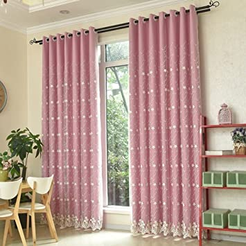 Amazon.com: Two-tier Curtain/Simple,Modern,Drapes/Total Blackout ...