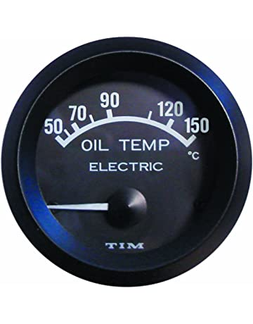 Sumex RFLX528 Mirror Look Oil Temperature Gauge