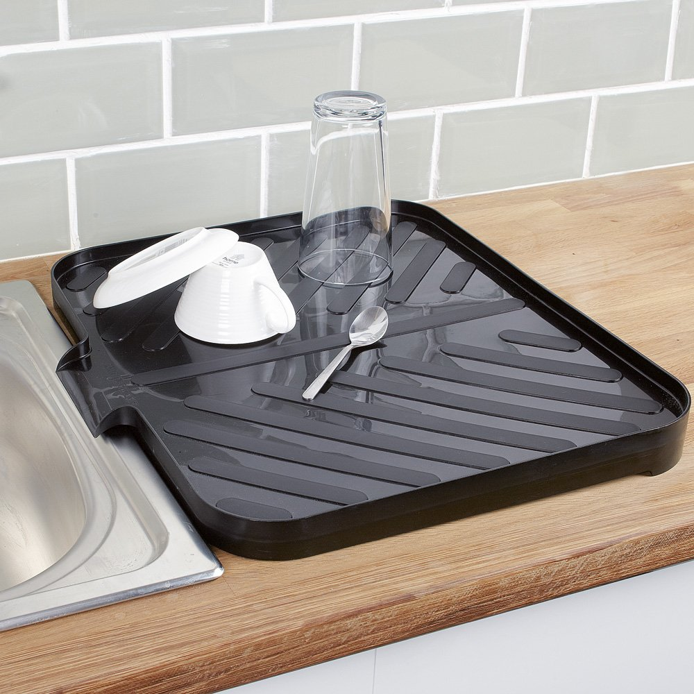 Draining Board Rack With Tray on rubbermaid drainer trays