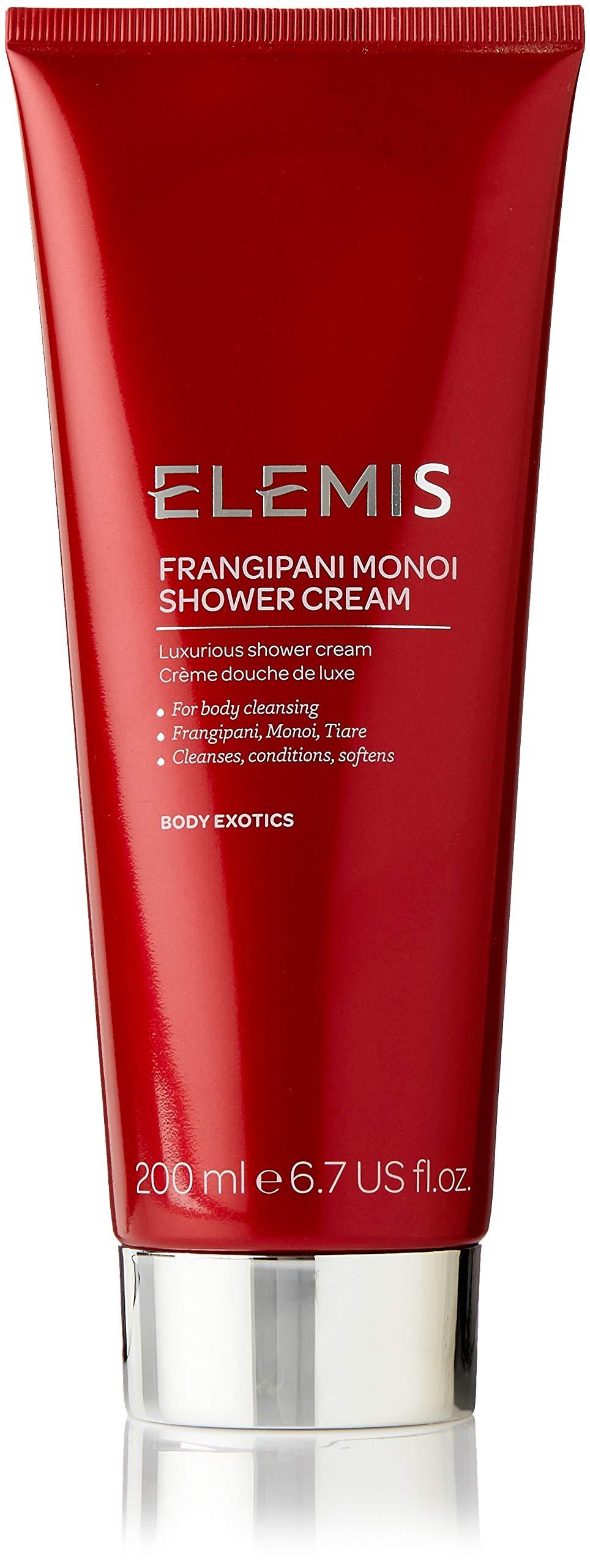 ELEMIS Frangipani Monoi Shower Cream - Luxurious Shower Cream, 6.7 fl. oz.