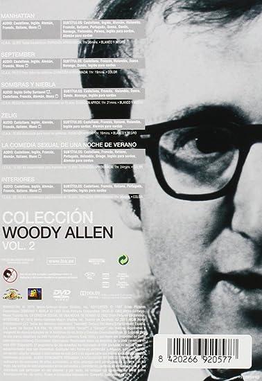 Coleccion Woody Allen Volumen 2 Manhattan + September + Sombras Y ...