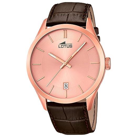 Lotus Klassik 18113/1 Reloj de Pulsera para hombres Plano & ligero