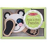 Melissa & Doug Peek-a-Boo Panda Wooden Baby Toy
