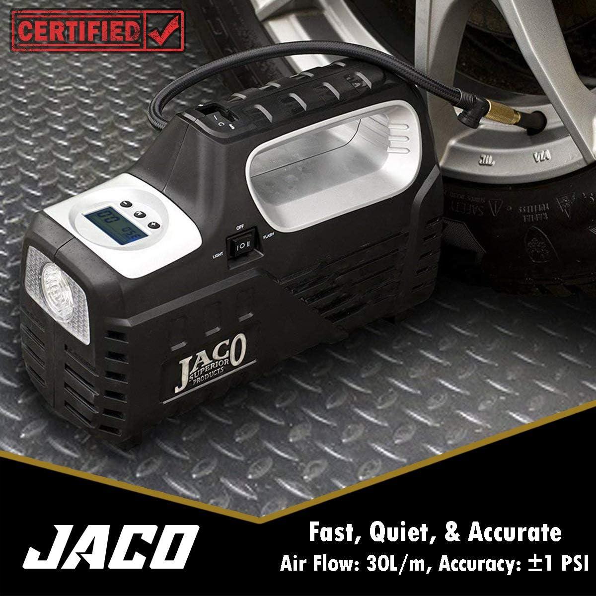 JACO SmartPro 2.0 AC/DC Digital Tire Inflator Air Compressor Pump