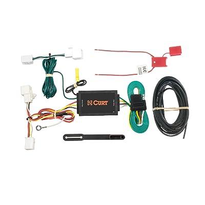 CURT 56016 Vehicle-Side Custom 4-Pin Trailer Wiring Harness for Select Mazda 2, Mazda 5, Mazda CX-9: Automotive