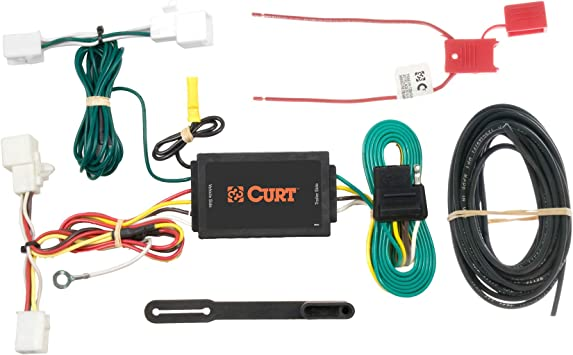 mazda5 audio wiring diagram amazon com curt 56016 vehicle side custom 4 pin trailer wiring  amazon com curt 56016 vehicle side