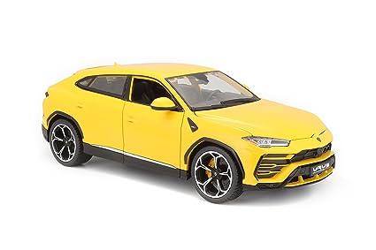 Amazon Com Lamborghini Urus Yellow 1 18 Diecast Model Car By