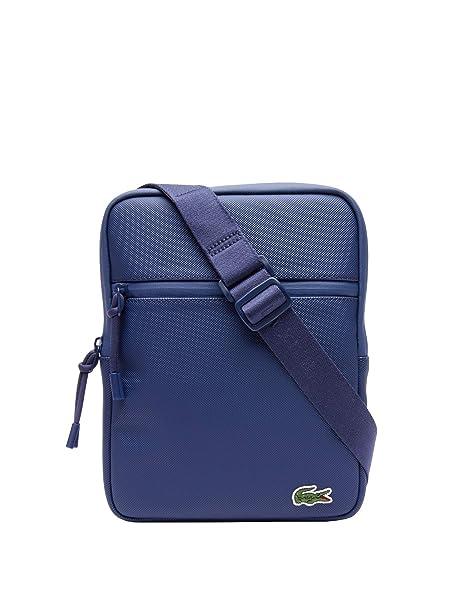 Lacoste L.12.12 Concept M Flat Crossover Bag Estate Blue: Amazon.es: Zapatos y complementos