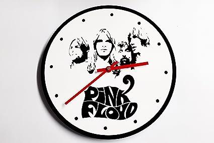 Reloj de pared original de Pink Floyd, metacrilato, silencioso, moderno