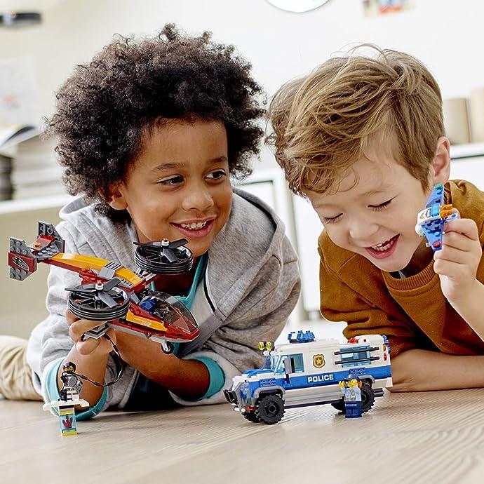 LEGO 乐高 城市系列 60209 空中特警钻石大劫案 积木玩具 6.3折$37.99 海淘转运到手约¥318