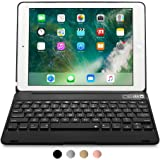 Apple iPad Air 2 / Pro 9.7 Custodia con Tastiera Bluetooth, COOPER KAI SKEL Q0 Custodia Rigida con Tastiera Bluetooth QWERTY Wireless con Batteria Esterna per Apple iPad Air 2 / Pro 9.7, Nero