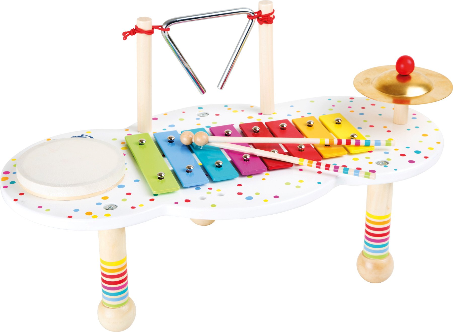 Small Foot Design 10385 The Noisemaker Music Table