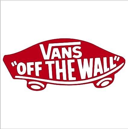 8a94d2460c Amazon.com  Vans Off The Wall Snowboard Bumper Sticker Decal (6 ...
