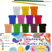 Creative Deco Temperas Lavable Pintura Niños Bebes
