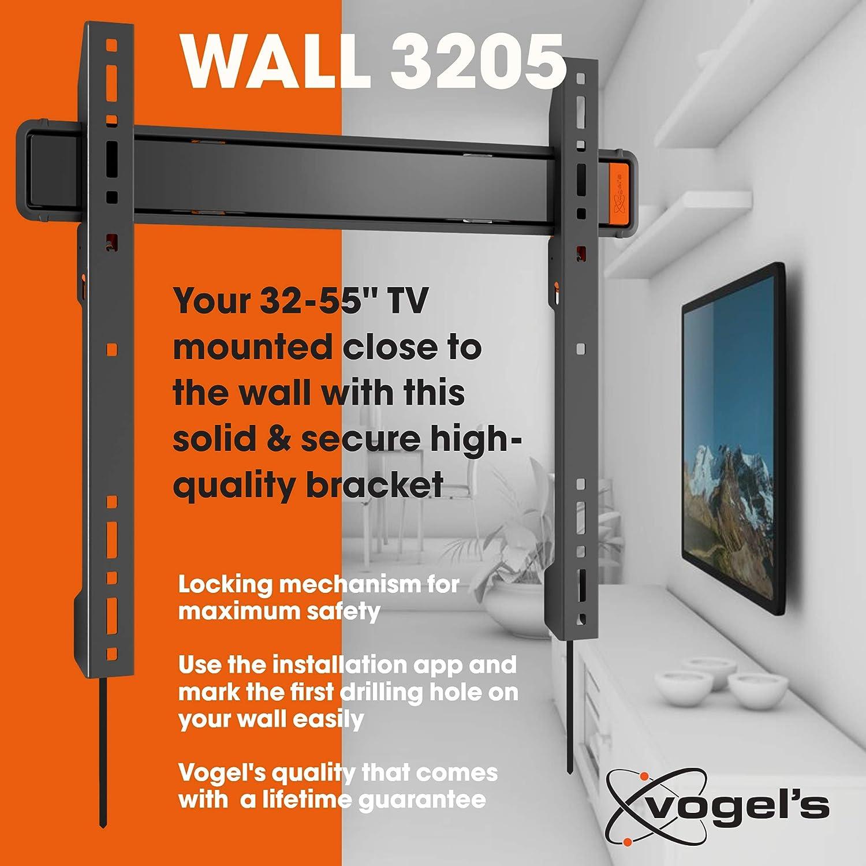 Vogels WALL 3205, Soporte de pared para TV 32: Vogels: Amazon.es ...