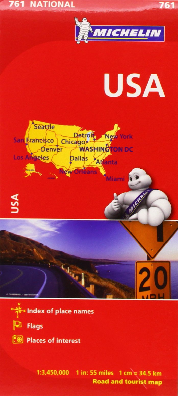 michelin usa road map 761 mapscountry michelin michelin 9782067173279 amazoncom books