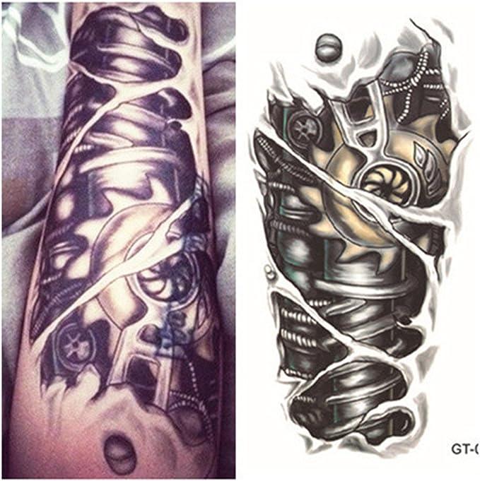 LZC Nuevo 12x19cm Tatuaje Temporal Adulto para Hombro Grande y ...