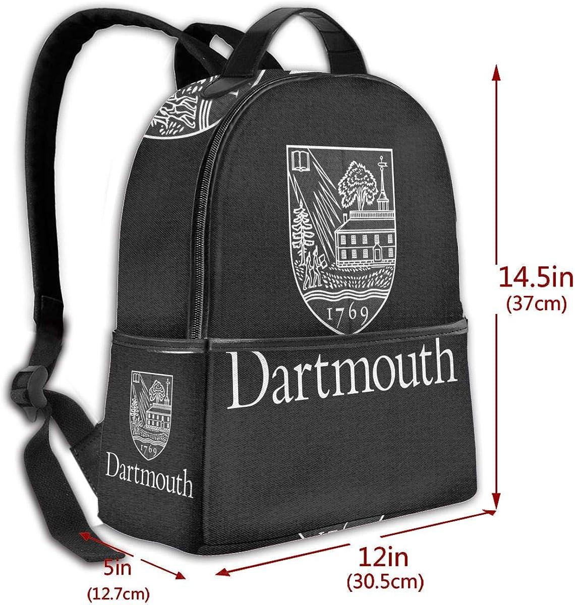 N//C Backpack Travel Dartmouth College School Bags Shoulder Laptop Backpack Men Ladies Girls Schoolbags