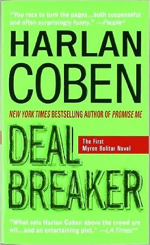 Amazon Fr Deal Breaker The First Myron Bolitar Novel