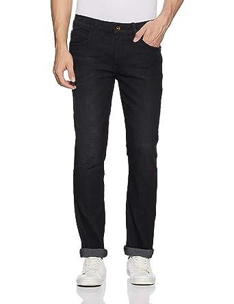 Diverse Men's Slim Fit Stretchable Jeans Men's Jeans at amazon