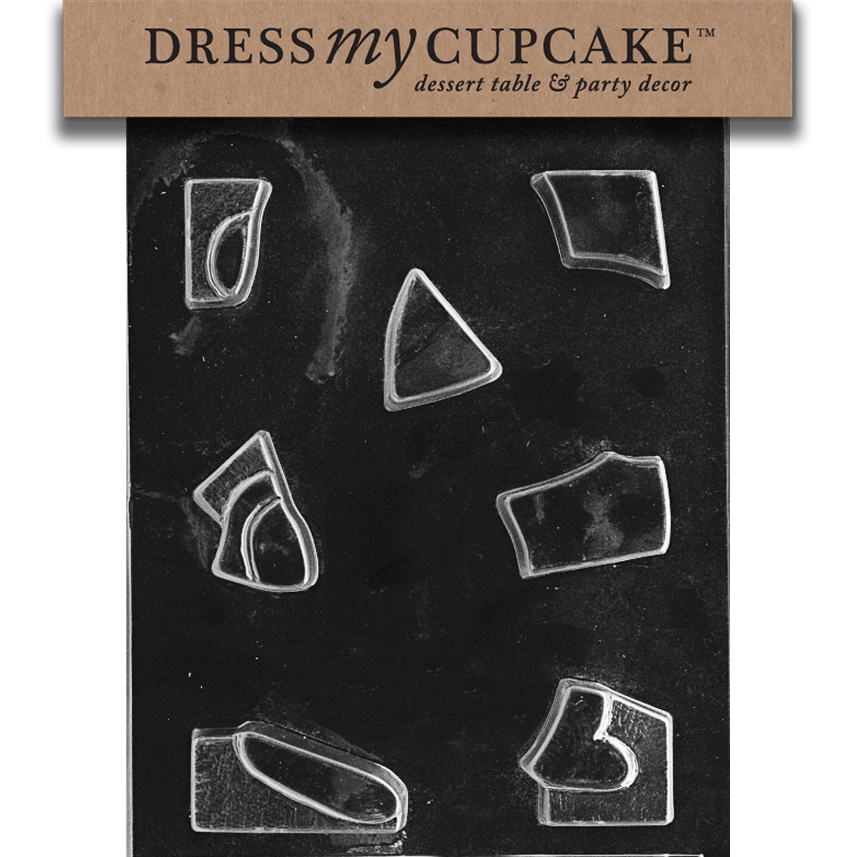 Dress My Cupcake DMCE209A Chocolate Candy Mold Jigsaw Puzzle Bunny-Piece 1 Easter