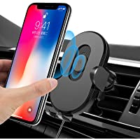 Wireless Car Charger Mount with Sensor Auto-Clamping,Jornarshar 15w Qi Fast Charging Car Phone Holder Mount Charger…