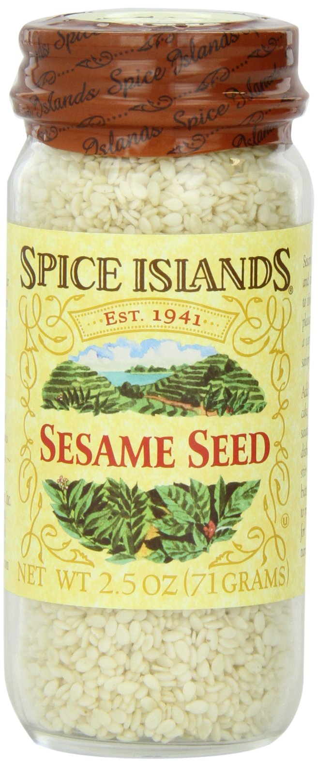 Spice Islands Sesame Seed, Whole White, 2.5-Ounce (Pack of 3)