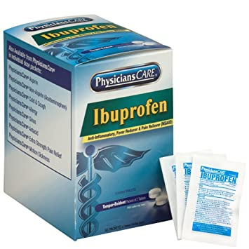Amazon Com Physicianscare By First Aid Only Ibuprofen Pain Reliever