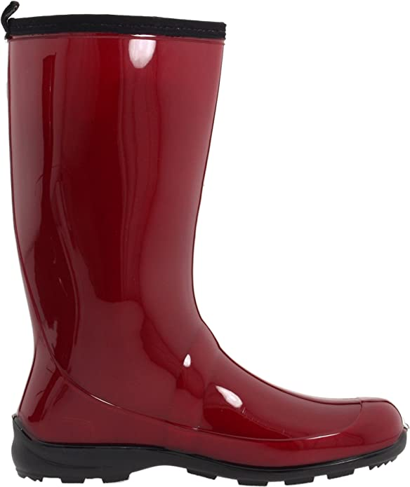 Heidi - Stivali di Gomma Donna, Rot (Red-Rouge),41 EU (10 US) kamik