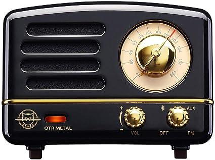 Muzen Audio Cotton Candy Button Portable Wireless High Definition Audio Bluetooth Speaker Classic Vintage Retro Design
