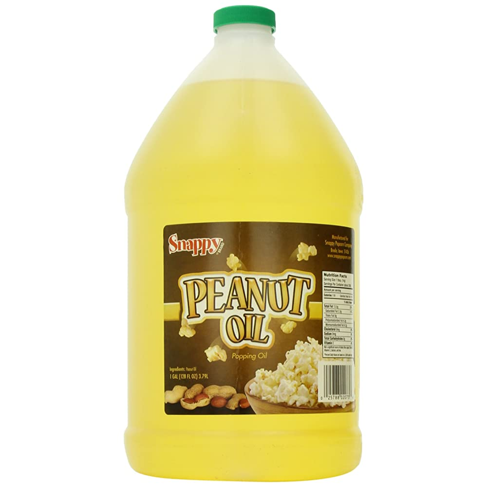 Snappy Popcorn Peanut Oil Review