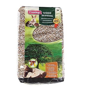 litiere chat granules bois