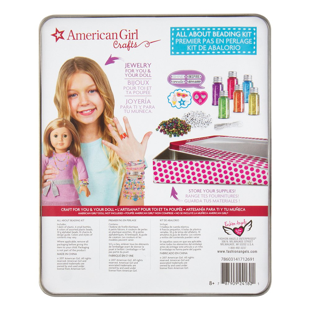 American Girl 24180 All About Beading Kit Multi by American Girl (Image #4)