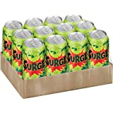 Surge Citrus Flavored Soda 16fl oz. 12 cans