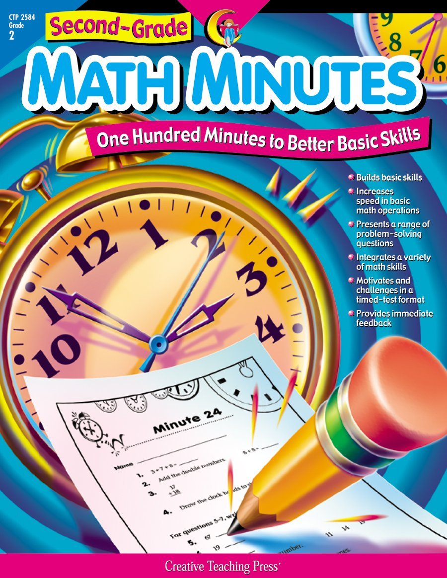 Amazon.com: Math Minutes, 2nd Grade (One Hundred Minutes to Better ...