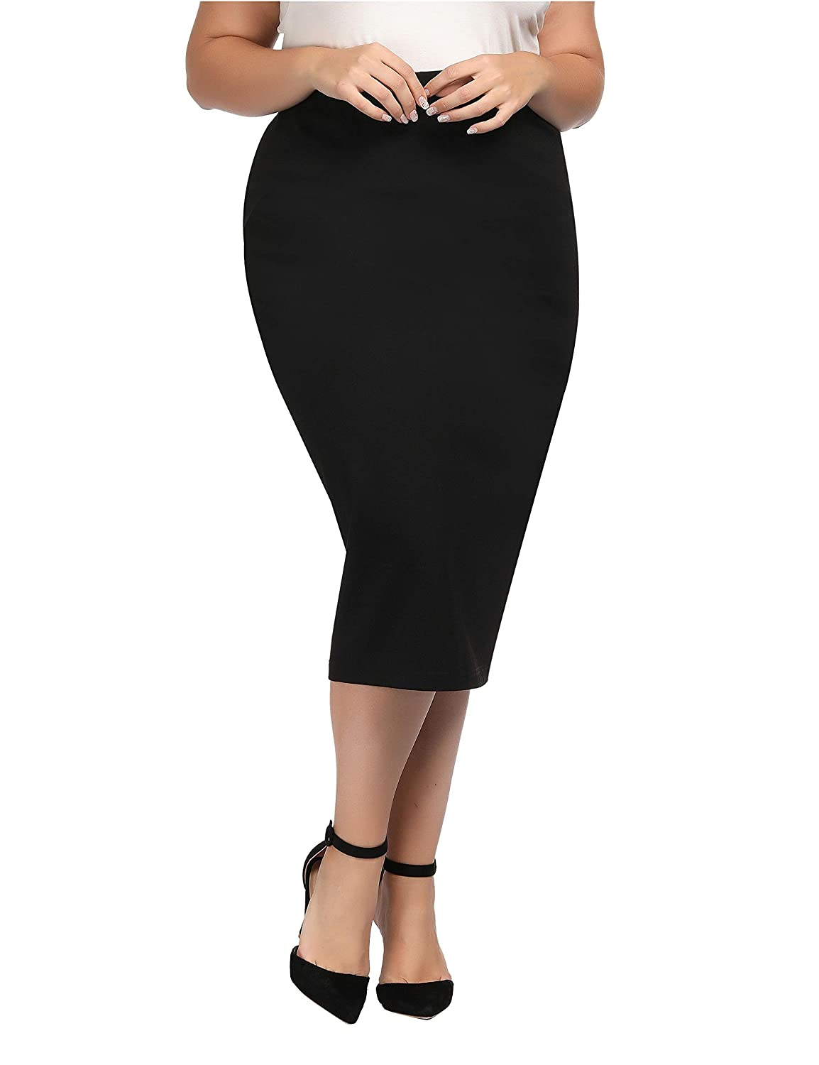 Womens Pencil Skirt Size 2x Sufficient Supply Skirts Women's Clothing