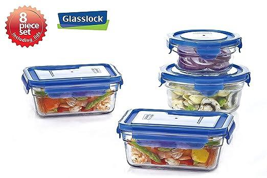 Nueva tapa Snaplock templado Glasslock recipientes de ...